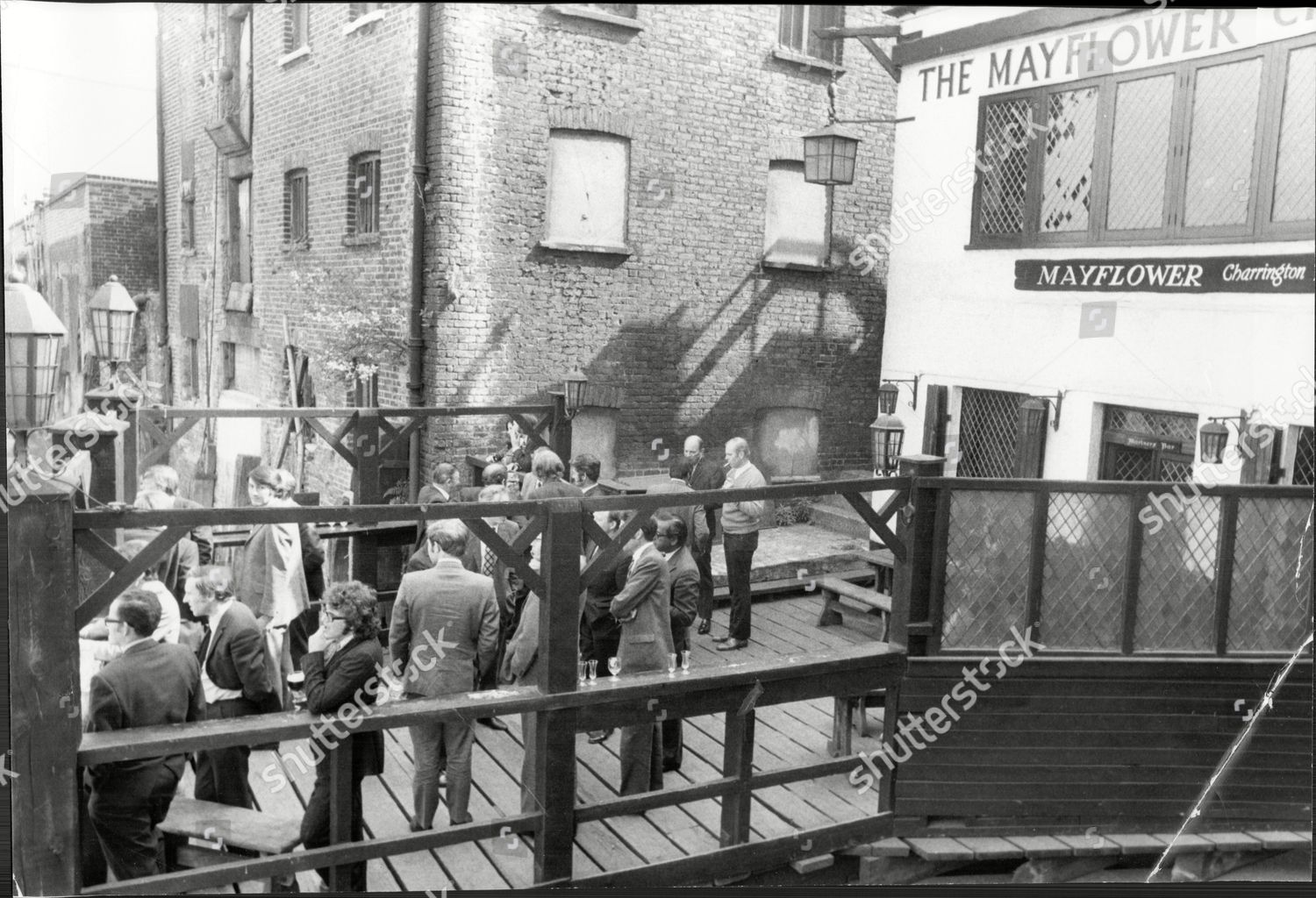 Rotherhithe Street c1972. The Mayflower Pub.   X.png