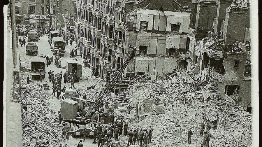 Gurney Street, explosion 1942.  X.png