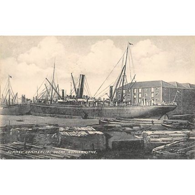 Surrey Commercial Dock, Rotherhithe.  X.png