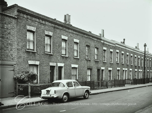 Stead Street 1963, runs between Brandon Street and Rodney Road.  X.png