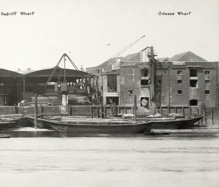 Redriff Wharf and Odessa Wharf, off Odessa Street.  X.png