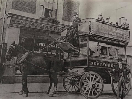 Horse Tram, Deptford via Tooley Street & Lower Road.   X.png