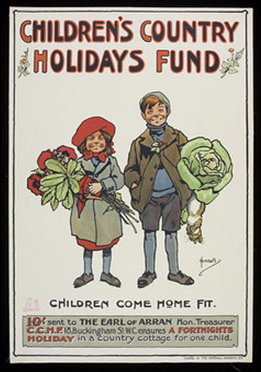 The Children's Country Holidays Fund for ailing London children.  2  X.png