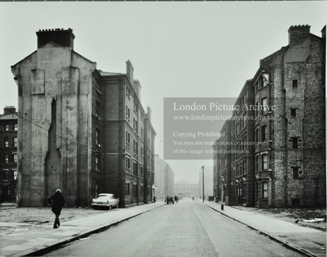 Pollock Road, Palatinate Estate, looking towards Deacon Street c1961.   X.png